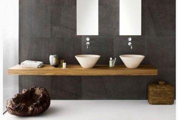 Mensolone bagno su misura in legno massello cm u artimode