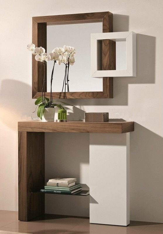 Mobile ingresso con specchiera for Ingresso casa moderno