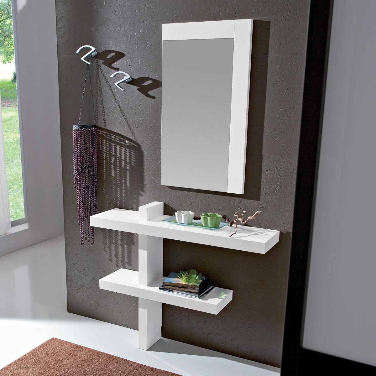 Mobile ingresso moderno con specchiera for Offerta mobili